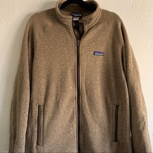 $180 Patagonia Better Sweater Brown Jacket Fall